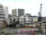 Der moderne Kran der Reederei HANIEL im St.Johann-Hafen, 2008