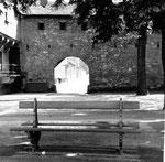 Das St.Albantal mit dem Letziturm, 1960