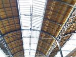 Die neu renovierte Bahnhofhalle Basel - eine Meisterleistung!  - Bravo SBB! Februar 2020