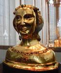 Büstenreliquiar der heiligen Ursula im Historischen Museum Basel, 2019