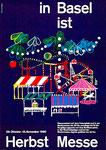 Das geniale Herbstmesse-Plakat von Piatti für d'Herbschtmäss 1960