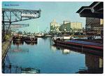Ansichtskarte 551 Basel. Rheinhafen (Verlag A.Kiener Schwanden GL)