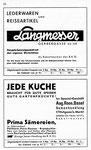 16) Langmesser Lederwaren und Ag.Roos Samanhandlung