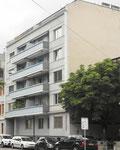 Das an bester Wohnlage gelegene Wohnhaus am St.Johann-Platz 26 im Jahre 2017. Daneben war früher die gemütliche Gartenbeiz des Restaurant St.Johann mit dem sympathischen Wirt Herr Schönmann.