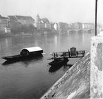 Ein romantisches Foto von der Münsterfähre im Jahre 1958 (Fährimaa Städeli)