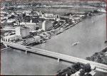 Ansichtskarte Basel, Rheinhafen St.Johann (Verlag Schifffahrt und Weltverkehr AG Basel - Foto A.Jansen, Zürich)