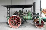 Die gleiche Dampfwalze der STUAG im Verkehrshaus Luzern im Jahre 2015 in einem -  nicht mehr so guten Zustand!