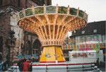 Der schöne Kettenflieger auf dem Münsterplatz während der Herbstmesse 1983