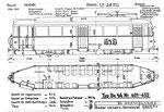 Tram-Motorwagen Be 4/4 Serie 401-452 (Zeichnung BVB)
