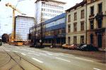 Die Basler Zeitung (vormals National Zeitung) am Aschenplatz, 1980