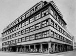 Das grosse Warenhaus «RHEINBRÜCKE» Ende der 20er-Jahren, Erbaut 1926, Foto?