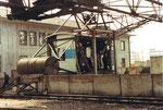 Renovation des Krans  der Rheinischen Güterumschlags AG (ehem.Rheinische Kohlenumschlags AG)1979