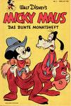 Das MICKY MAUS-Heft Nr.2 vom Februar 1952 (Im Besitze des Autors)