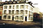 Das Restaurant Amerbach an der Ecke Hammerstrasse/Amerbachstrasse 1977