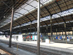 Die grosse und schöne Bahnhofhalle im Bahnhof BASEL SBB, 2010