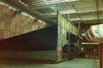 Die alte Wiener-Prater-Geisterbahn in der Kongresshalle 8 (Basler Halle) im Jahre 1978