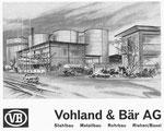 Inserat der Firma «Vohland & Bär Metallbau Basel» in der Zeitschrift «Strom und See» 1964