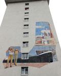 Das geniale Wandbild von Arturo Ermini (1911-1996), 1960