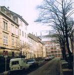 Die Häuserreihe an der Bleichestrasse (ehem.Bücherladen C.Jaenmaire) 1982