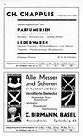 28) CH.Chappuis Parmumerien   /    C.Birmann Bestecke