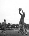 Nochmals der FCB-Torhüter Paul Wechlin im Match FC Nordstern - FC Basel im Stadion Rankhof 1944