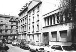 Die Flachsländerstrasse (das Wohnhaus Nr.12) im Jahre 1983