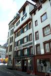 Das Haus des Handschuhgeschäftes Friedlin in der Stadthausgasse, 2014