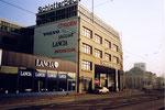 Die grosse Schlotterbeck-Garage, Ansicht von der Viaduktstrasse her, 1990