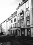 Die Flachsländerstrasse im Jahre 1983 mit dem Wohnhaus der Familie Deola