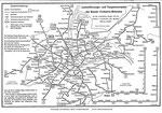 BVB-Linienführungs- und Taxgrenzenplan 1958