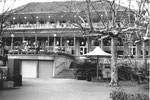Das Zolli-Restaurant (Baujahr 1934-1935) von Heinrich Flügel im Jahre 1978