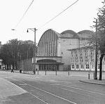 Die Basler Halle der Mustermesse 1958, Foto ? Franz Bachmann ?