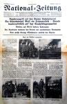 National-Zeitung Extrablatt vom Montag 5.März 1945 «Bombenangriff auf Basel» (Seite 1)