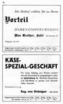36) Max Grether Damen-Couffeursalon   /    Käse-Spezial-Geschäft Eug.von Grünigen40