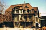 Die Basler Zeitung (vormals National Zeitung)  -  die alte Villa, 1980