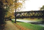 Eine DB-Wiesenbrücken im oberen Wiese-Verlauf,1985