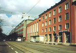 Die Gebäude der Mustermesse am Riehenring 1997