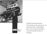 Inserat der «RHENUS Aktiengesellschaft für Schifffahrt und Spedition Basel» in der Zeitschrift «Strom und See» 1964