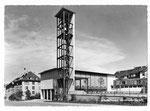 Ansichtskarte 5 3823 Basel. St.Johannkirche (Verlag Beringer & Pampaluchi Zürich)
