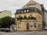 Das Restaurant Erlengarten im Jahre 2018. In den 50er bis in die 70er-Jahre fanden hier schöne und originelle Gartenfeste mit Tombola statt, die viele Leute anzogen.