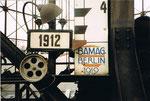 Detailaufnahme des Gaskessels Basel in der Fabrikstrasse, 1975