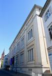 Das 1913-1917 durch das Architekturbüro Vischer & Söhne erbaute «Natur- und Völkerkunde-Museumsgebäude« an der Augustinergasse, Mai 2017