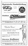20) Schuhhaus Witthauser  /   Kindhauser Damenwäsche