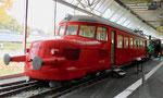 Der «Rote Pfeil« RCe 2/4 Nr.203 der SBB im Verkehrshaus Luzern, 2015