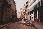 Der obere Teil der Freien Strasse im Jahre 1982