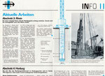 3) Informationsblatt zum Baubeginn der Nordtagente im Grossbasel, Oktober 1995