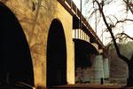 Der Kleinbasler Brückenkopf der Wettsteinbrücke, 1980