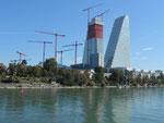 Gesamtübersicht der Baustelle des zweiten ROCHE-Turmes, August 2020
