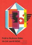 Das MUBA-Plakat von 1956, gestaltet von Fritz Bühler