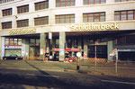 Schlotterbeck-Garage, die Einfahrt an der Viadukstrasse, 1990